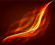 Abstraktes Feuer Stockfoto