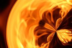 Abstraktes Feuer lizenzfreie stockbilder