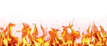 Abstraktes Feuer flammt Hintergrund Lizenzfreie Stockfotografie