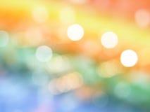 Abstraktes Foto der Hintergrundbeleuchtung und des Funkeln bokeh beleuchtet Hintergrund Stockfoto