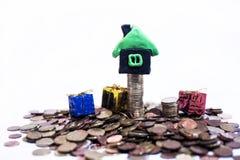Abstraktes Foto des Immobilienmarkts Lizenzfreie Stockbilder