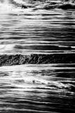Abstraktes Foto des Wassers Stockfotos