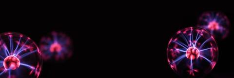 Abstraktes Foto von elektrischen Wellen lizenzfreie stockfotografie