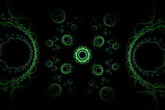Abstraktes Fractal-Muster Stockfotografie