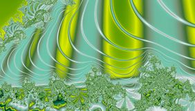 Abstraktes Fractal Turbulenz-Design mit buntem Hintergrund Lizenzfreies Stockbild