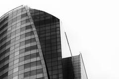 Abstraktes Fragment der modernen Architektur Lizenzfreies Stockfoto