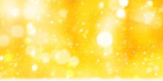 Abstraktes funkelndes bokeh Lizenzfreies Stockbild