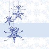 Abstraktes funkelndes Weihnachtsnahtloses Muster Lizenzfreies Stockbild
