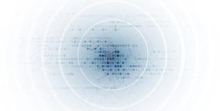 Abstraktes futuristisches Stromkreiscomputerinternet-Technologiebrett stock abbildung