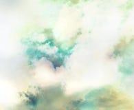 Abstraktes Gas, bunter Hintergrund des Stickstoffes, Nebelfleck im Raum Stockbilder