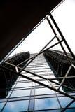 Abstraktes Gebäude lizenzfreies stockfoto