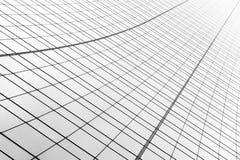 Abstraktes Gebäude mit einzigartiger Architektur Stockbild