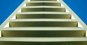 Abstraktes Gebäude oder Jobstepps Stockfoto