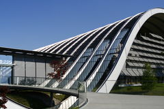 Abstraktes Gebäude von Bern stockbild