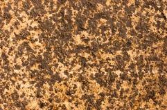 Abstraktes gelbes andbackground reiches Weinleseschmutzhintergrund-Beschaffenheitsluxusdesign mit eleganter antiker Farbe auf Wan Stockfoto