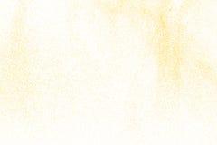 Abstraktes gelbes Pulver Lizenzfreie Stockfotos