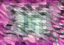 Abstraktes geometrisches Stockfotografie