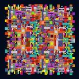 Abstraktes geometrisches backround Lizenzfreie Stockbilder