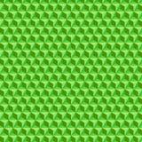 Abstraktes geometrisches BG-Mustergrün-Drucknetz vektor abbildung