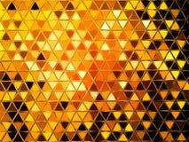 Abstraktes geometrisches Dreieck widergespiegeltes Muster stock abbildung