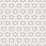 Abstraktes geometrisches einfaches Muster von Dreiecken Stockfotos