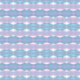 Abstraktes geometrisches ethnisches boho Muster stockfotografie