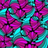 Abstraktes geometrisches Hintergrundmuster von Formen Lizenzfreies Stockbild