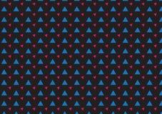 Abstraktes geometrisches Hippie-Modedesign-Druckdreieck Lizenzfreie Stockfotografie