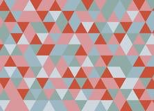 Abstraktes geometrisches mosaik Auch im corel abgehobenen Betrag Buch Vektor Abbildung