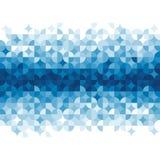 Abstraktes geometrisches Muster. Stockfoto