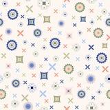 Abstraktes geometrisches Muster Stockfotos