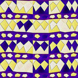 Abstraktes geometrisches Muster für Papier und Gewebe entwerfen Lizenzfreie Stockfotos