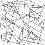 Abstraktes geometrisches Muster, gelegentlicher gelegentlicher Streifen zeichnet, schneidener Schrägstreifen des Vektorhintergrun Stockfoto