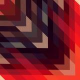 Abstraktes geometrisches Muster Hintergrund von Dreiecken Stockfotografie