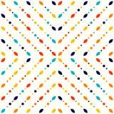 Abstraktes geometrisches Muster, kleine Stellen und Punkte Lizenzfreie Stockfotografie