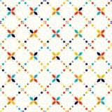 Abstraktes geometrisches Muster, kleine Stellen und Punkte Lizenzfreie Stockfotos
