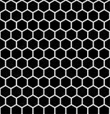 Abstraktes geometrisches Muster mit Streifen, Linien, Quadrate Nahtloser vektorhintergrund Schwarzweiss-Gitterbeschaffenheit Lizenzfreies Stockbild