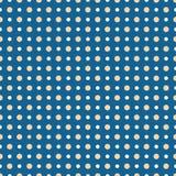 Abstraktes geometrisches Muster punktiert stock abbildung