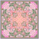 Abstraktes geometrisches Muster von Paisley Stockfotografie