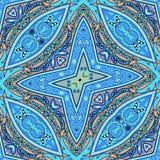 Abstraktes geometrisches Muster von Paisley Lizenzfreie Stockbilder