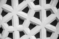 Abstraktes geometrisches Muster, weißes Steingitter Lizenzfreie Stockfotos