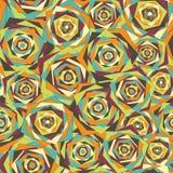 Abstraktes geometrisches nahtloses Muster lizenzfreie stockfotos
