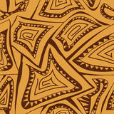 Abstraktes geometrisches nahtloses Muster Lizenzfreie Stockfotografie