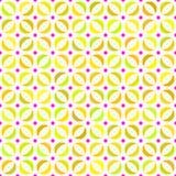 Abstraktes geometrisches nahtloses Muster. Stockbild