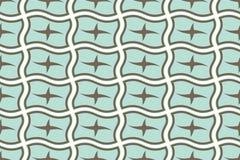 Abstraktes geometrisches nahtloses Muster. Lizenzfreies Stockbild