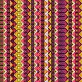 Abstraktes geometrisches nahtloses Muster Lizenzfreie Stockbilder