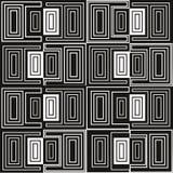 Abstraktes geometrisches nahtloses Muster Dalmatinischer Pelz stockfotografie