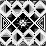 Abstraktes geometrisches nahtloses Muster Dalmatinischer Pelz Stockfotos