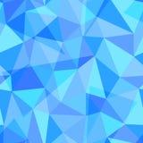 Abstraktes geometrisches nahtloses Muster des unterschiedlichen Dreiecks formt, Illustration des Vektors eps10 Lizenzfreie Stockfotos