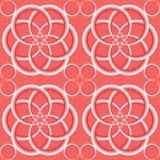 Abstraktes geometrisches nahtloses Muster für Hintergrund, Tapeten Lizenzfreie Abbildung